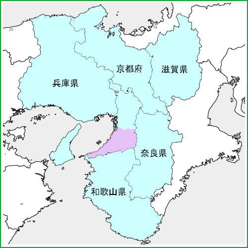 対応エリアは関西全域。